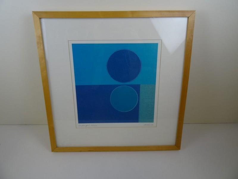 Amaina: 2 abstracten gesigneerd