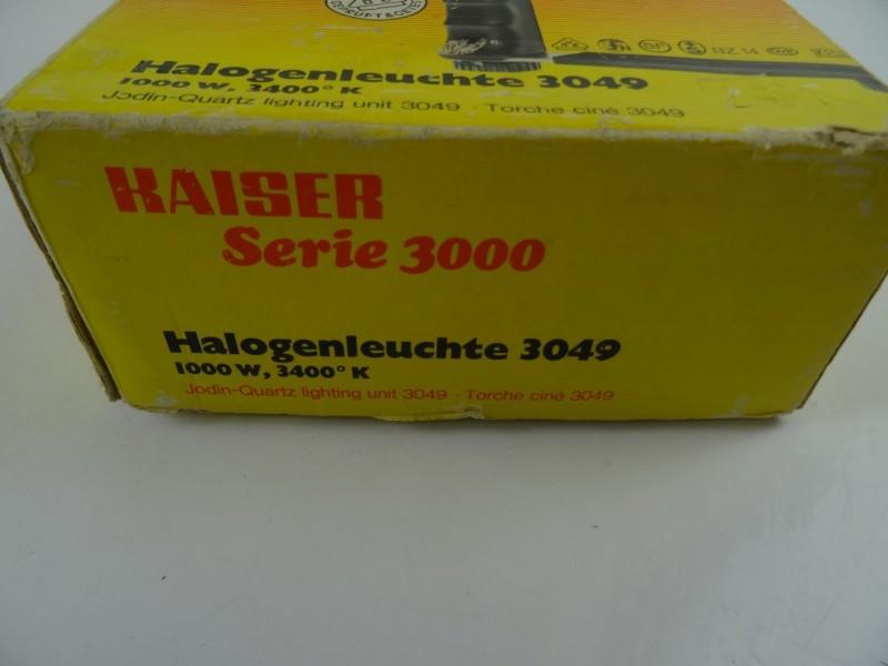 Halogeenlicht Kaiser serie 3000 voor fotografie en film