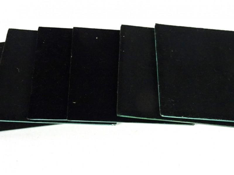 6 Vierkante onderzetters