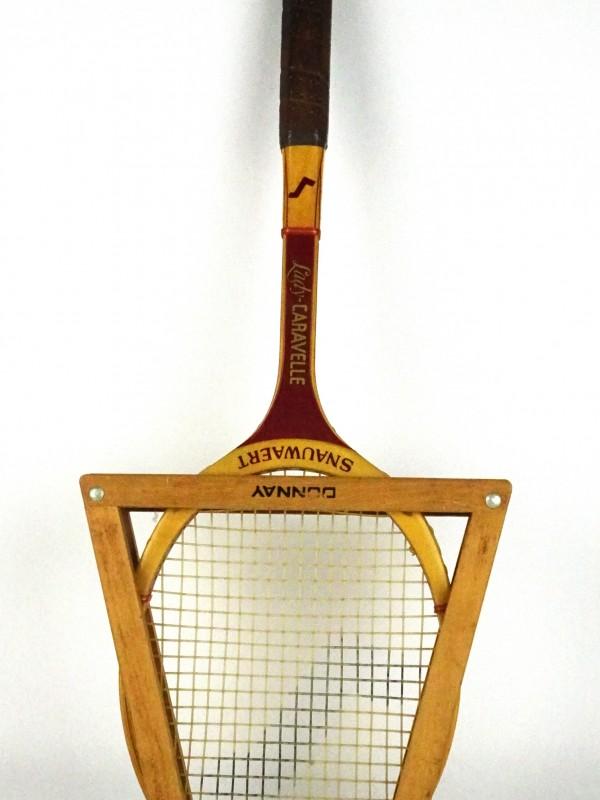 Vintage tennisracket (Snauwaert)