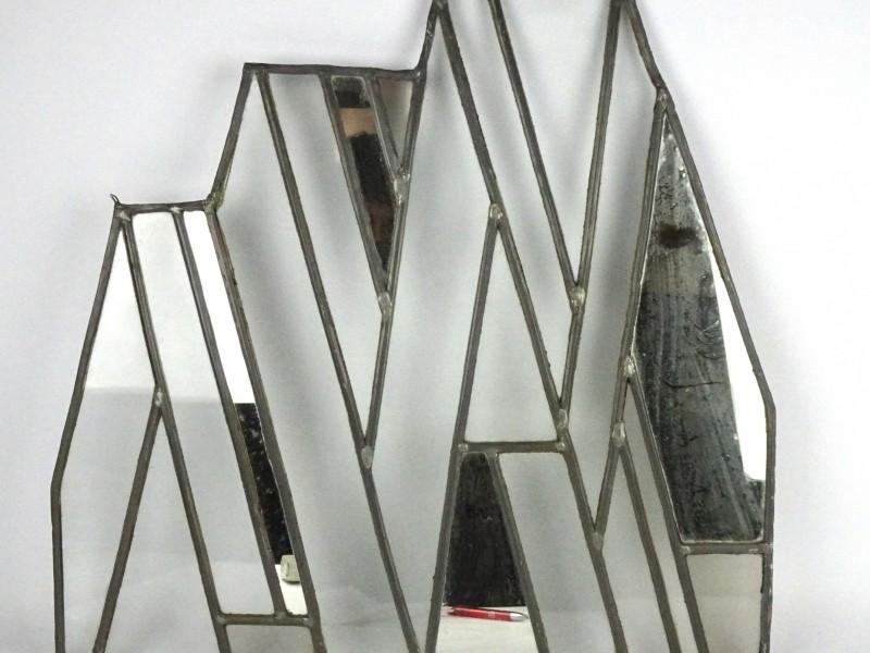 2 Oude stukken loodglas