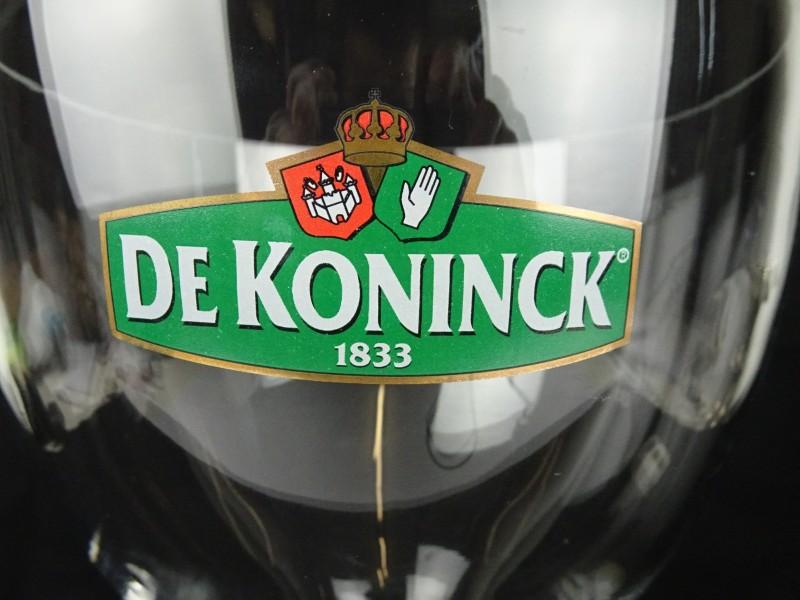 Grote bierglas (De Koninck)
