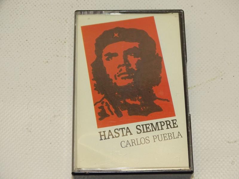 Cassette 'Hasta Siempre' door Carlos Puebla