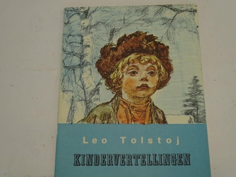 Boek, Kindervertellingen, Leo Tolstoj, Uitgeverij Radouga, 1983