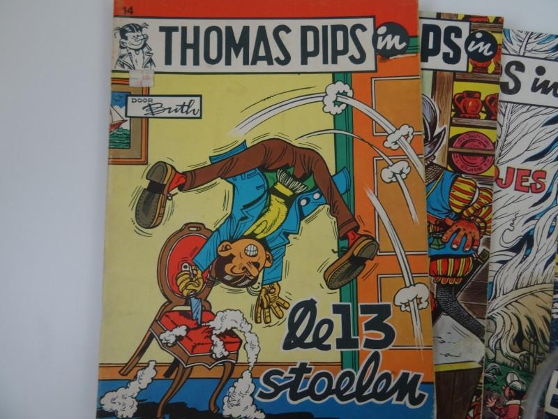 Kapoentjesuitgaves en ohee: 9 x Thomas Pips
