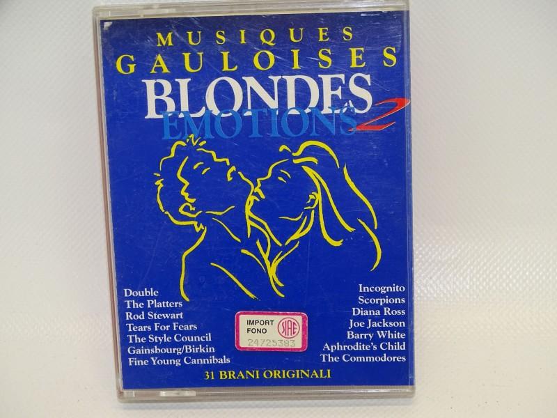 Cassettes, Musiques Gauloises, Blondes Emotions 2, 1994