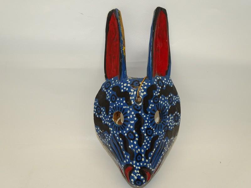 Houten Decoratief Masker, Dierenfiguur