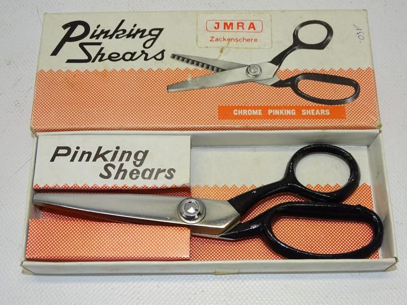 Vintage Kartelschaar, Pinking Shears, JMRA, Duitsland