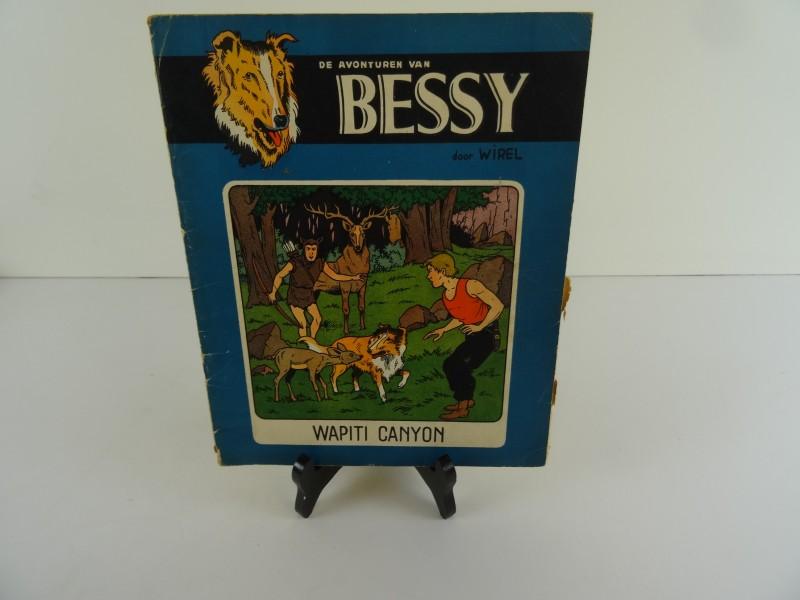 Karel verschuere: Bessy: Wapiti canyon eerste druk 1955