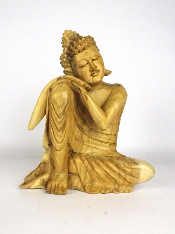 Aziatische houten beeld