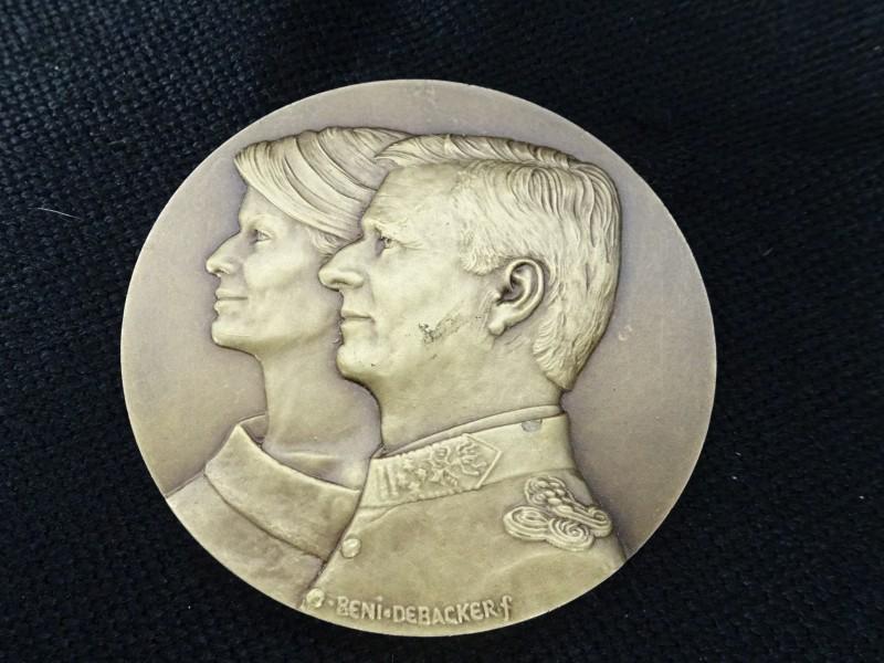 Medaille Koningspaar