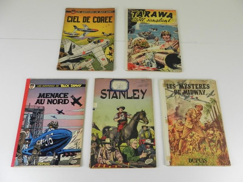 Hubinon:  5 Franse stripalbums jaren '40 '50