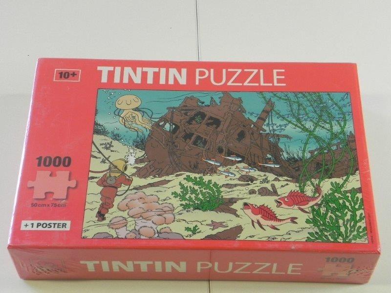 Puzzel TinTin 1000 stuks