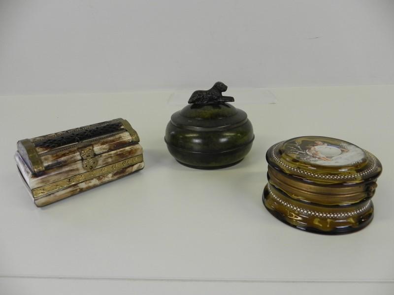vintage doosje, juwelenkistje, bonbonniere