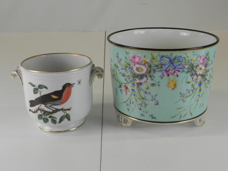 2 Vintage Cache-pots