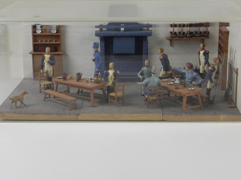 Napoleontisch schouwspel - kijkkamer