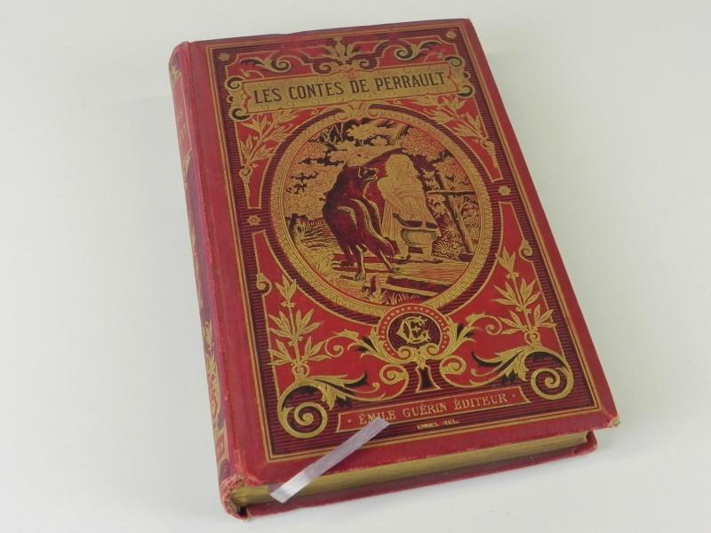 PERRAULT: Les Contes Précédés d'une Préface par J.T. de Saint-Germain