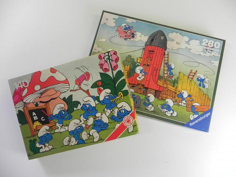 Vintage De smurfen - puzzels