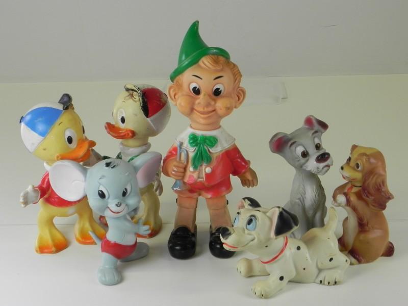 Lot gemengde Piepfiguren Walt Disney
