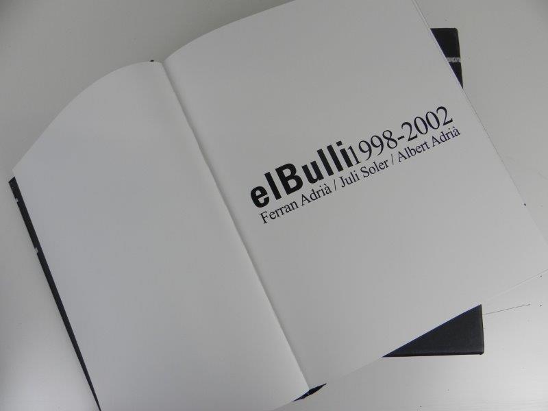 Kookboek El Bulli 1998-2002 (FR)