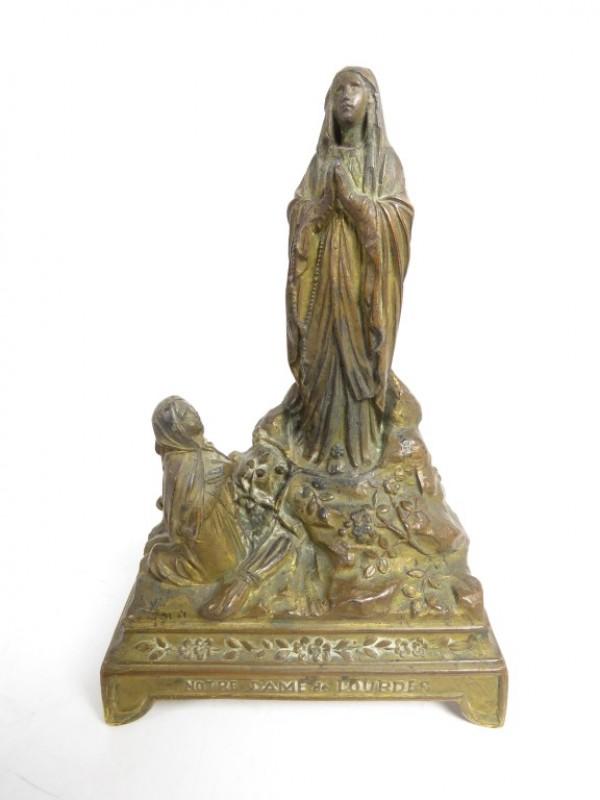 Souvenier van Lourdes met muziek 1