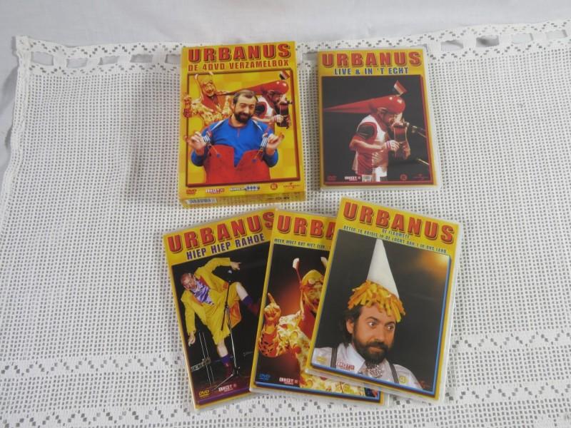 Urbanus - De 4 dvd verzamelbox