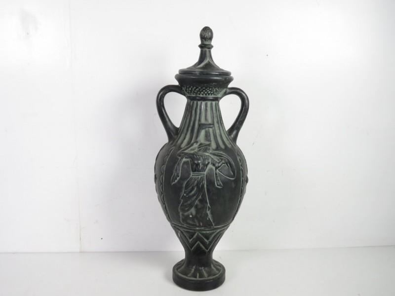 Vintage vaas met Romeinse taferelen