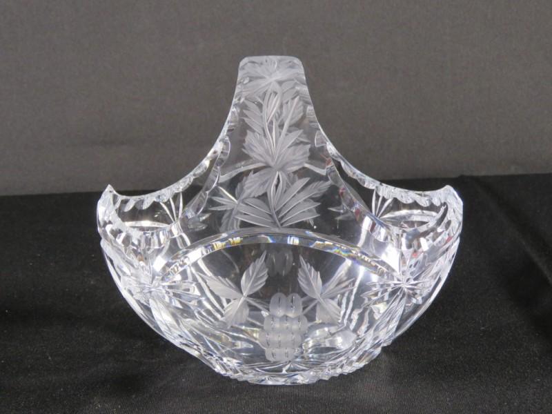 kristallen mandje