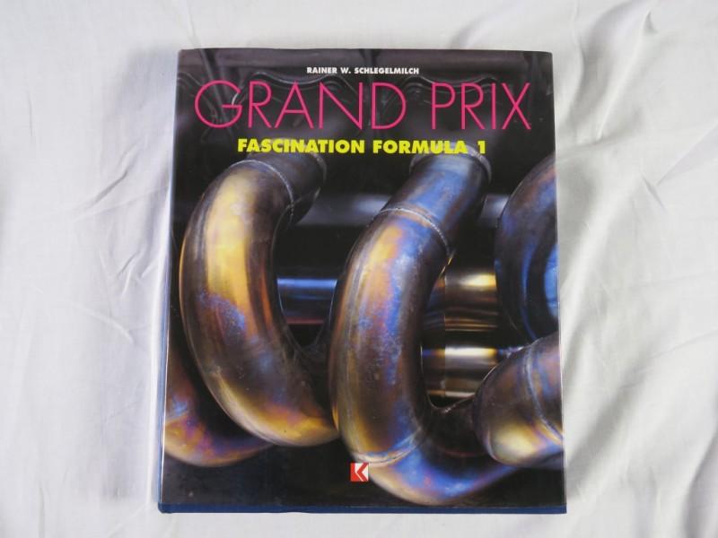 Boek- Grand prix - fascination formula 1