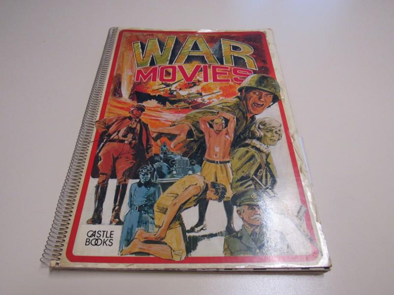 War Movies - Castle Books - Tom Perlmutter - Engelstalig - 1974