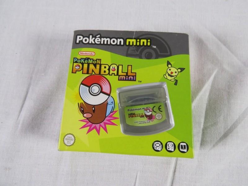 Nintendo pokemon pinball mini