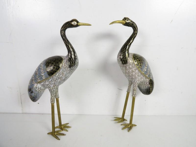 Cloisonné vogels
