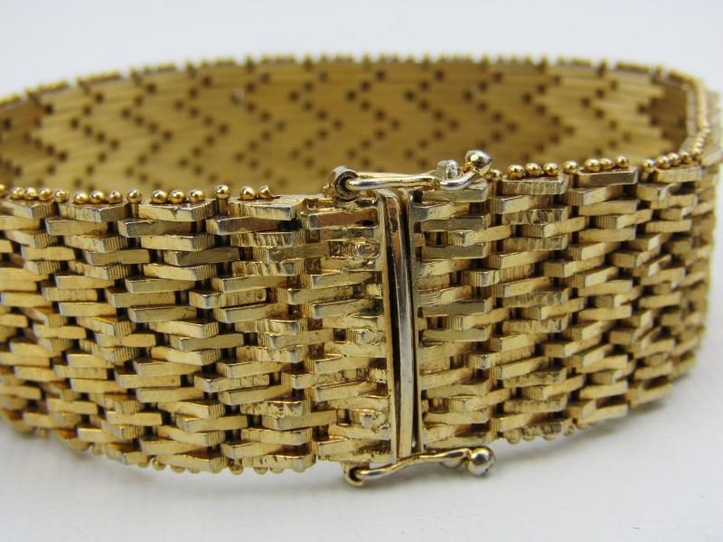 Gouden Vintage Armband, 18K 0750