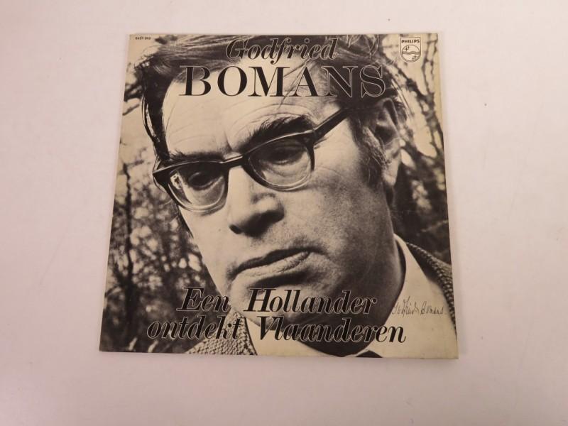 Lp - Godfried Bomans - Een Hollander ontdekt Belgie