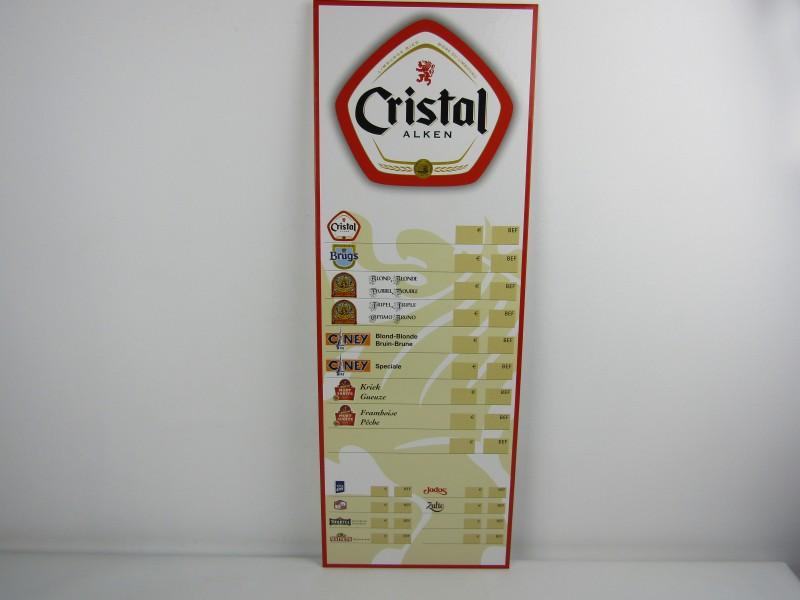 Prijslijst: Cristal Alken