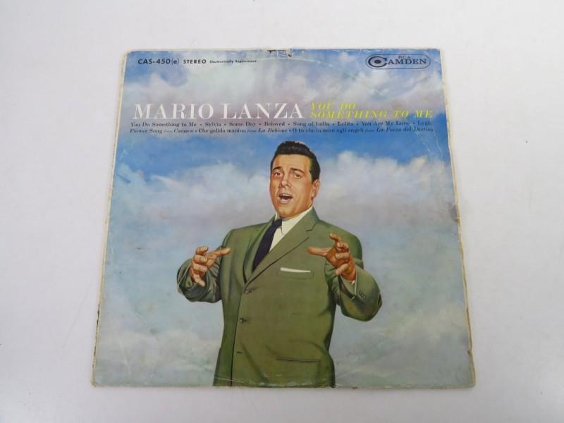 Lp - Mario Lanza - You do something to me