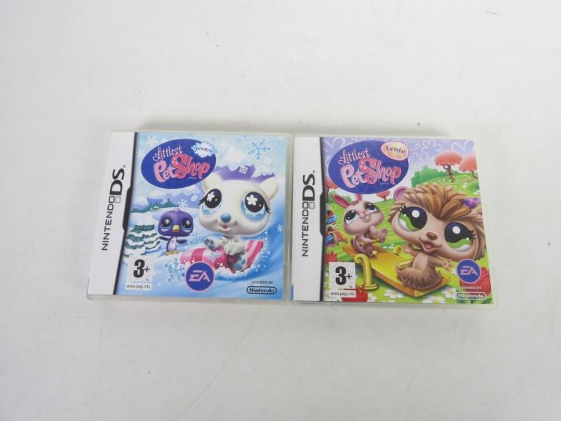 Set van 2 Nintendo DS spelletjes - Littlest petshop