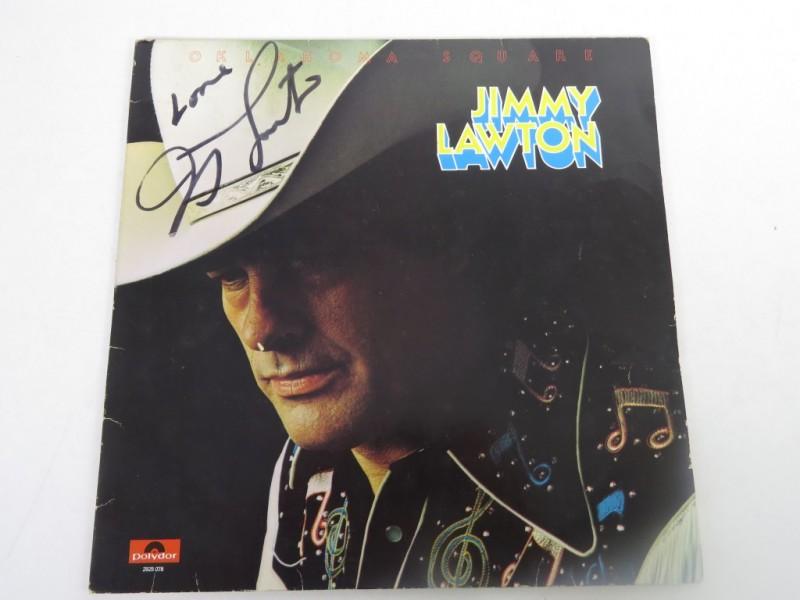 Lp - Jimmy Lawton - Oklahoma square