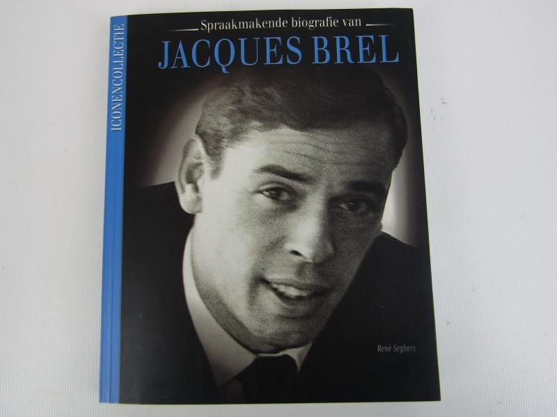 Boek: Spraakmakende Biografie: Jacques Brel, 2005