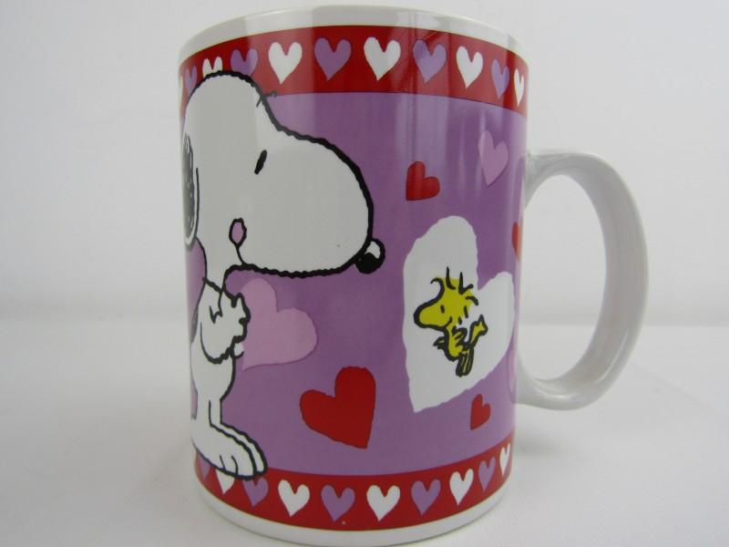 Grote Valentijn Mok: Peanuts, Snoopy