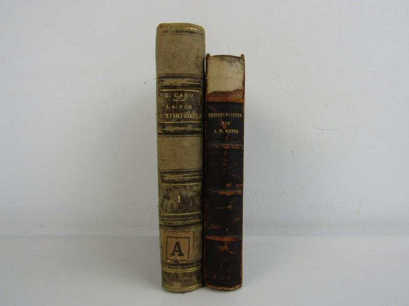 2 Antieke Boeken: 1880 - 1885