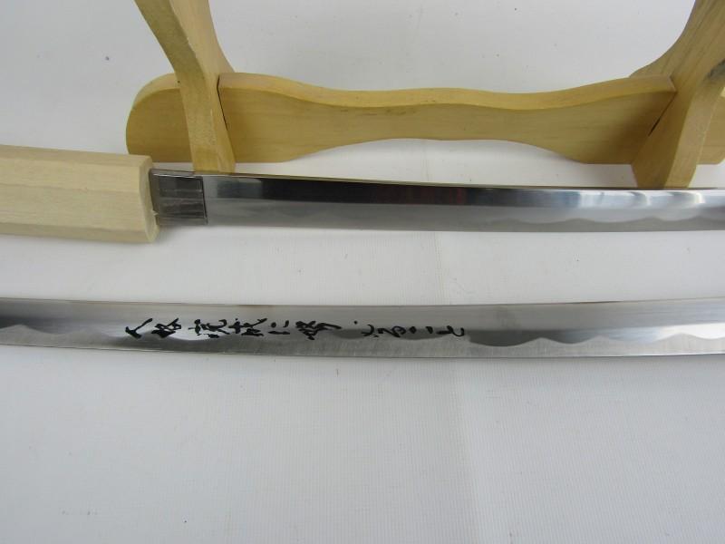 2 Samoerai Zwaarden in 1 Schede + Staander