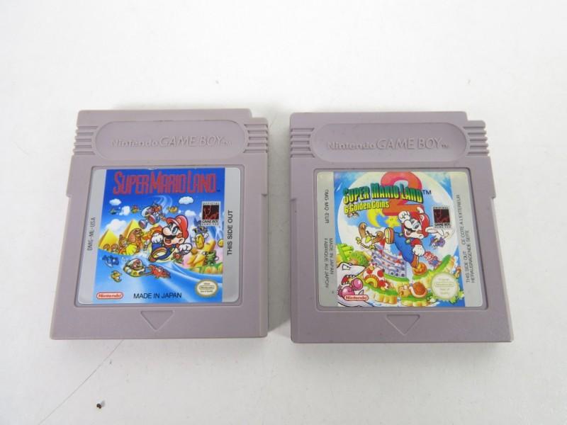 Game boy - Super Mario Land en Super Mario Land 2