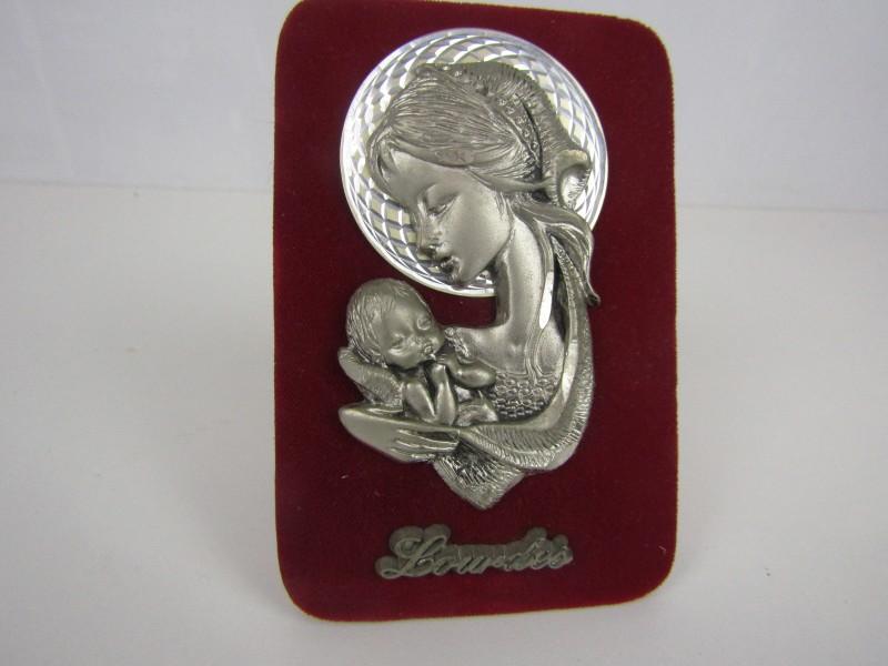 Religieuze Kunst, Handgesneden Souvenir uit Lourdes, Italië