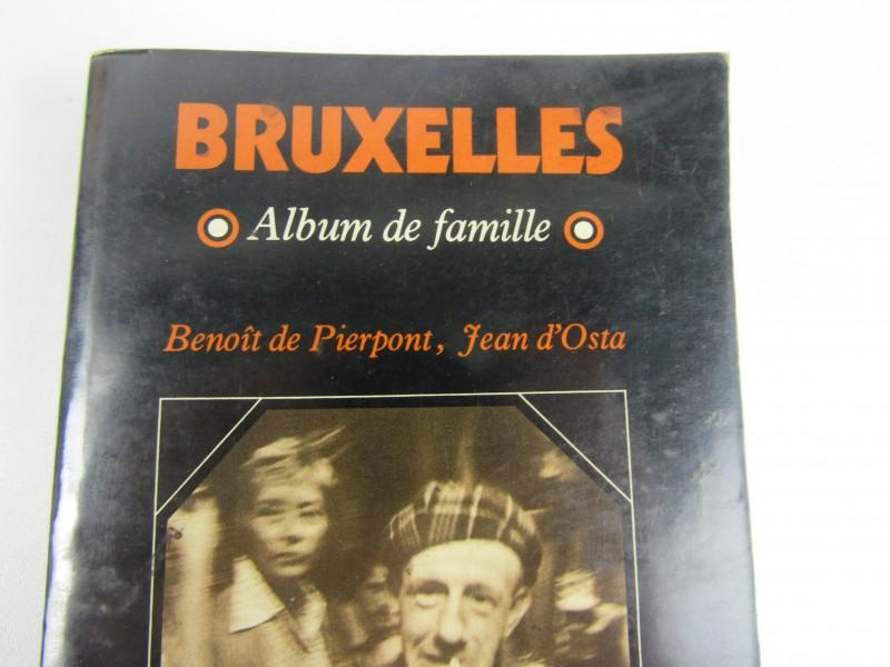 Fotoboek, Zeldzaam, Bruxelles, Album de Famille, 1977