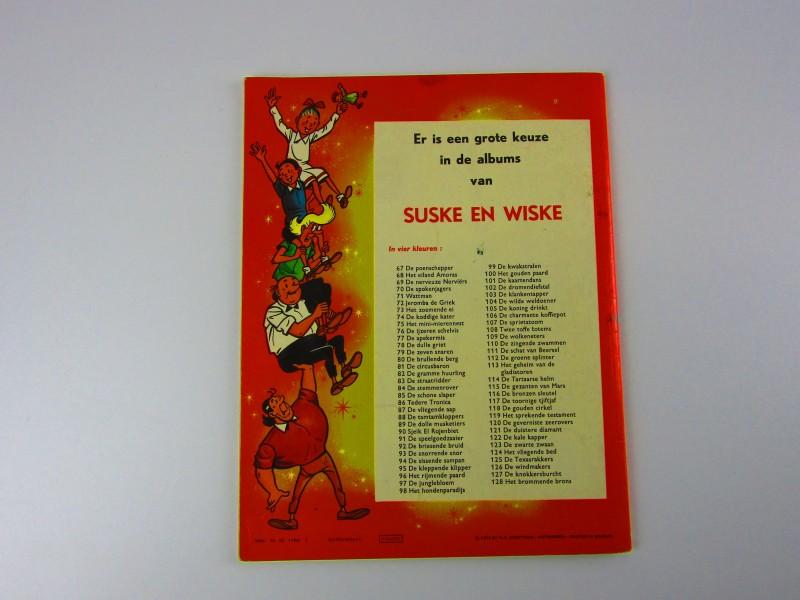 Strip, Suske En Wiske, De Steensnoepers, 1972