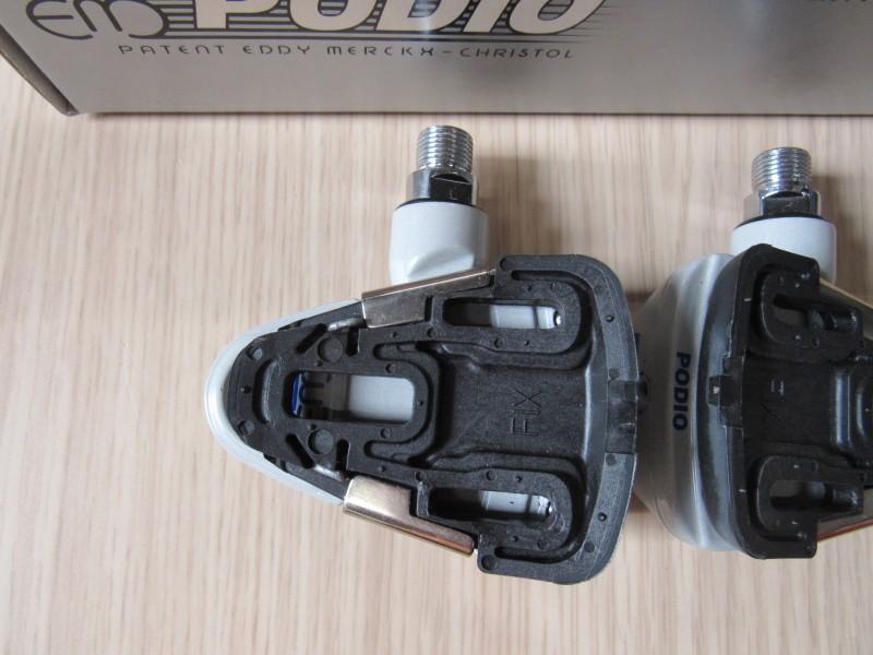Podio klikpedalen patent Eddy Merckx  - Slide & Fix