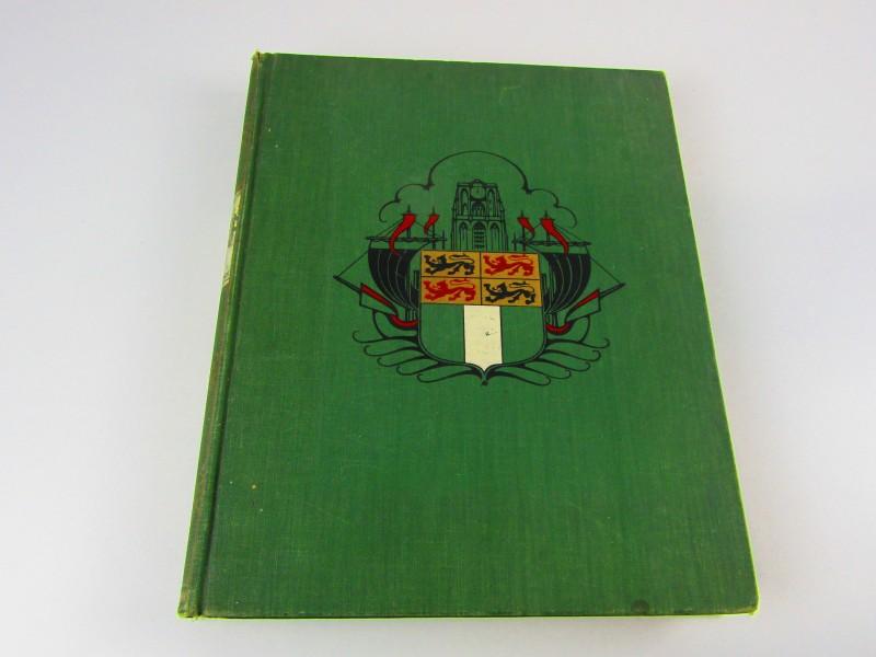 Boek, Zes Eeuwen Rotterdam, Dr A.C. Kersbergen, 1941