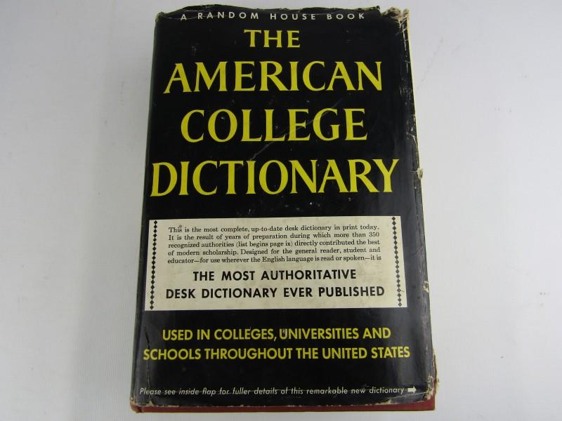 Oude Woordenboek: 'The American College Dictionary © 1966