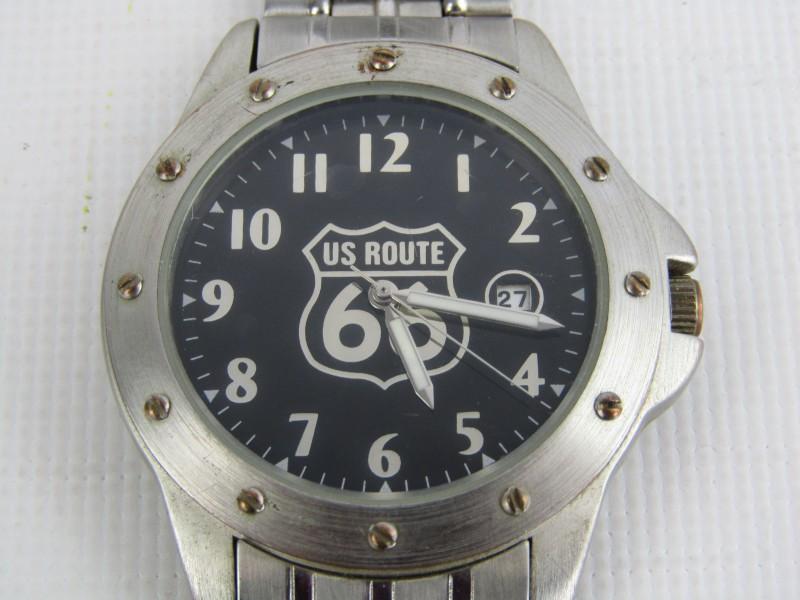 Horloge: US Route 66